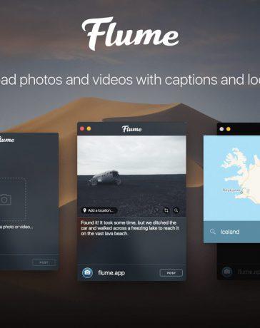 Flume Instagram for Mac OS X