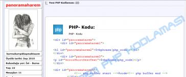 vBulletin PHP Kod Bloğu